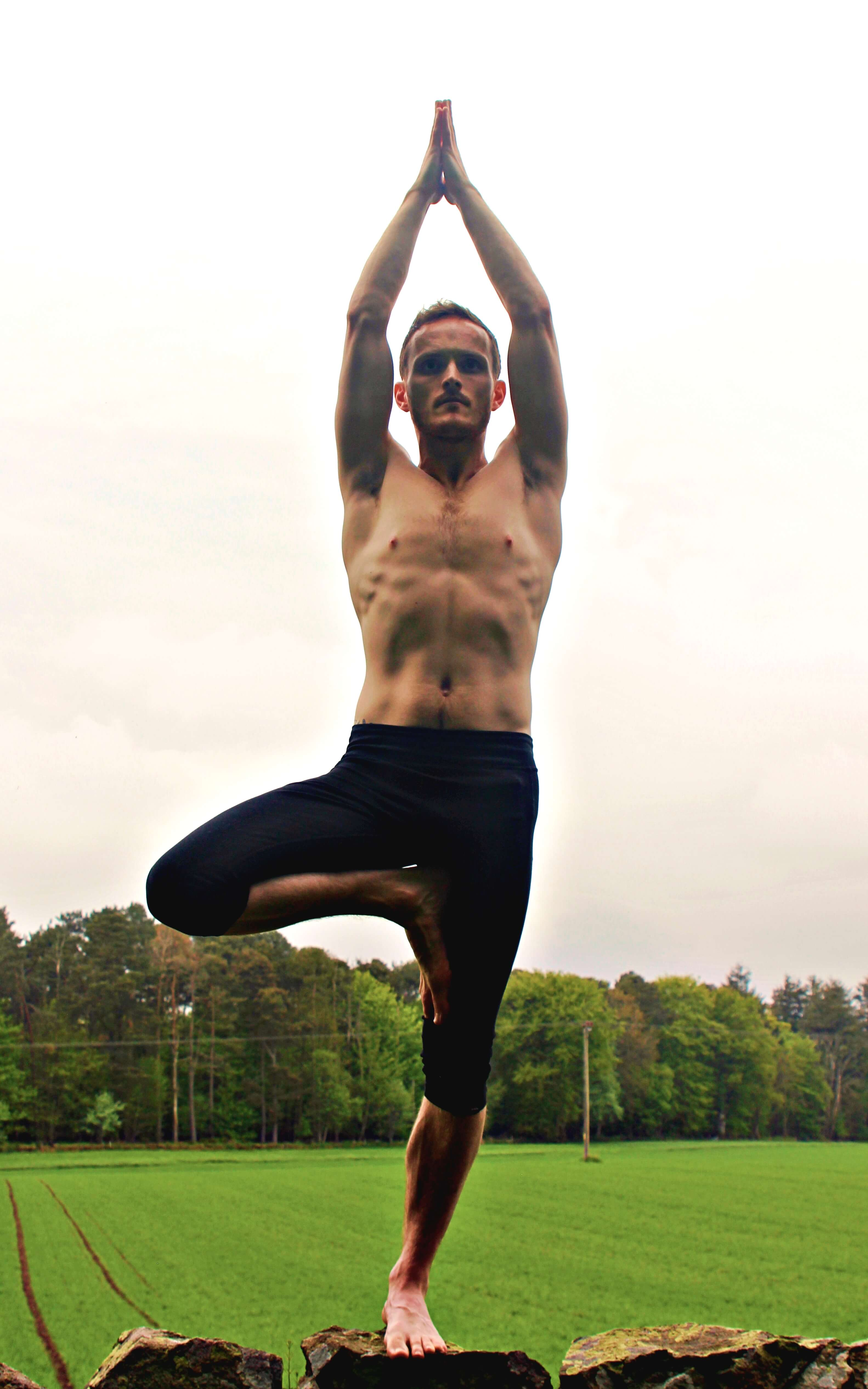 Charcoal Yoga Aberdeen 2019 Vrksasana