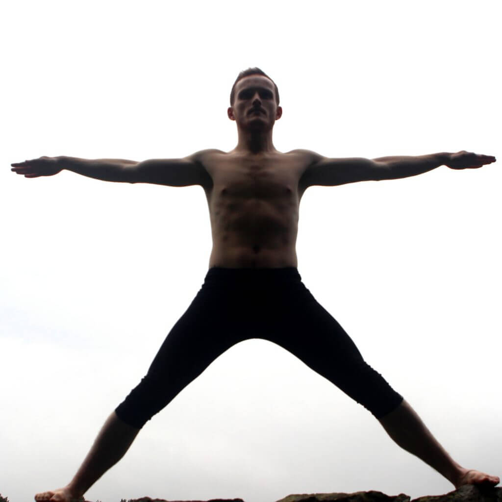 Utthita Hasta Padasana Charcoal Yoga 2019
