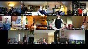 Charcoal Yoga Online Class