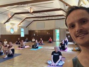 Crathes Village Hall Charcoal Yoga Oliver 2021